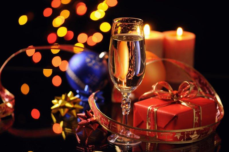 Present & wine
